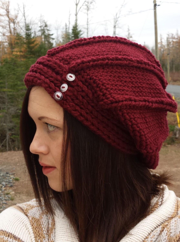 Vertigo slouch slouchy hat crochet pattern headband adult zoom bankloansurffo Gallery