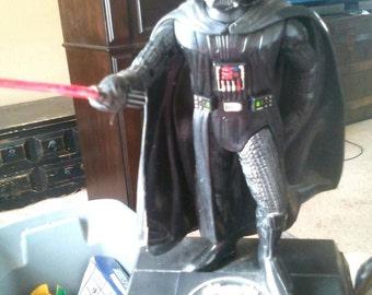 Vintage Star Wars Darth Vadar Talking Bank