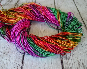 NEW - Hand Dyed FANTASY LAND cord, 6 yards