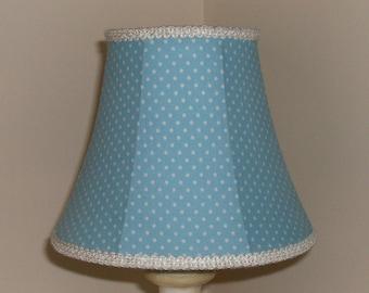 Blue Lampshade