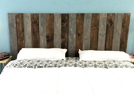 Items similar to Headboard, reclaimed wood, wooden ...