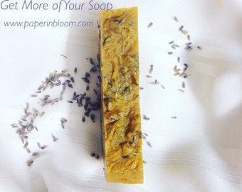 Lavender / Carrot: Facial & Body Soap
