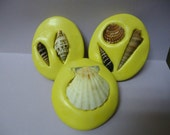 Set of 6 Sea Shell Designs Food Grade Silicone Molds