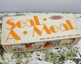 Vintage Seal-a-Meal in original box, Dazey seal-a-meal