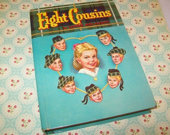 SALE - 1950s Book, Eight Cousins, Louisa May Alcott