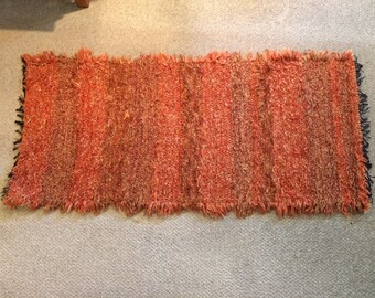 Orange Tones Rug