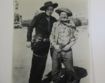Lash Larue and Al St. John Wild West Movie Stars,B-Western Movie Stars,Al St. John as Lash's Sidekick,Sidekick Al St. John,Bullwhip LaRue