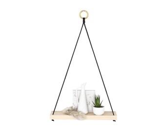 NIVIS - Small Modern Hanging Wall Shelf