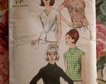 SALE vintage Vogue blouse pattern