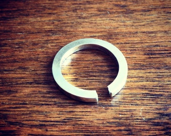 Open Band Ring - Squared