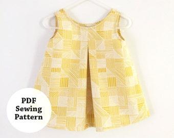 Ryka Tank (PDF Sewing Pattern) Girls Apparel