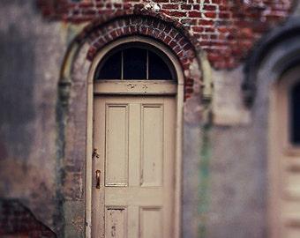 "New Orleans Art, Garden District ""Carriage House Door"" Photography. Home Decor Wall Art. Louisiana Photograph Print"
