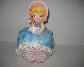 Vintage Lil Bo Peep Ceramic Cookie Jar