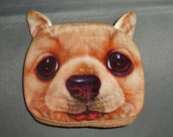 Surgical Half Face Mask 3D Orange Dog Face Medical Reusable