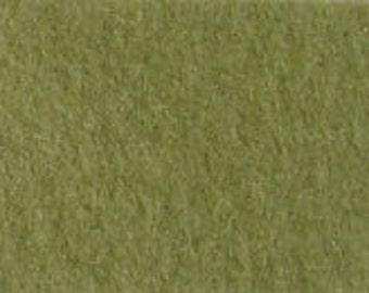 100% Wool Felt 20cm x 30cm 1.5mm thick - 541 Dusty Green