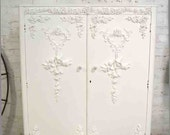 RESERVE BRITTANY Armoire Painted Cottage Chic Shabby French Romantic Armoire/ Wardrobe AM202