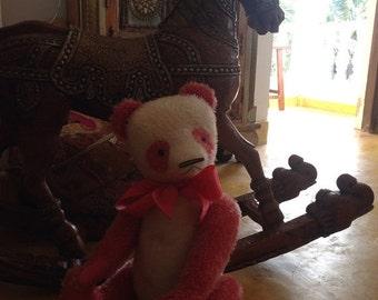 St. Valentine Day SALE 22 inch Artist Handmade Mohair Teddy Panda Caomei by Sasha Pokrass