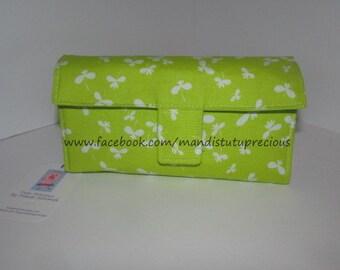 Cash Budget Wallet - Budget System - Money Envelope System - Cash Budgeting - Budgeting Wallet - 6 Zippered Money Envelopes - Ready to Ship