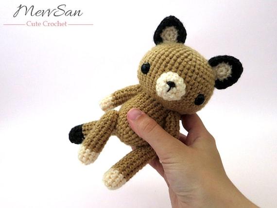 Mountain Lion Amigurumi : Crochet PATTERN PDF - Amigurumi Woodland Critter Cougar ...