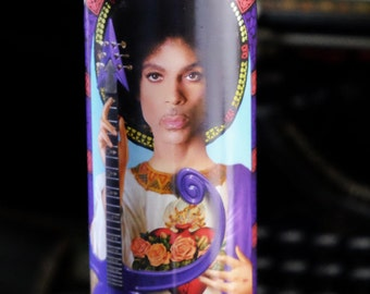 Prince Prayer Candle / Purple Rain / Saint Prince the Artist