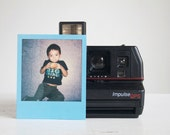 Camera, Working Polaroid Impulse QPS, Film Tested, Gift For Mom, New Parents, Teens, Under 50, Make A Memory