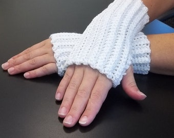 Fingerless gloves, ribbed gloves, arm warmers, wrist warmers, hand warmers, texting gloves, crochet gloves, winter gloves