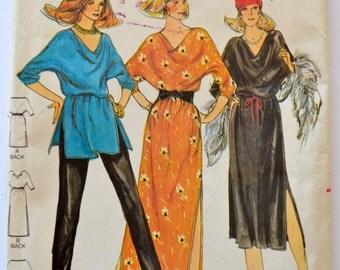 Butterick 6840 Misses Dress Tunic and Pants Size 10-14 UNCUT