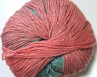 Knitting Fever Painted Sky Yarn #214 Rose Sorbet Superwash Wool Self Striping