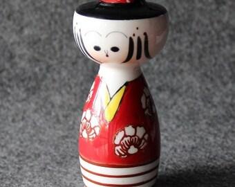 Vintage Porcelain Chinese Salt Shaker