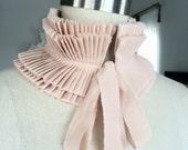 NEW  Ruffle collar/Pleated Collar/More colors/Detachable Ruffle Collar/Ruffle scarf/Ruffle collar/ Ruffled Fashion/Bohemian collar/ rusteam