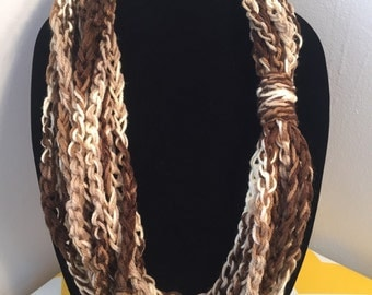 Infinity Loop Scarf Necklace