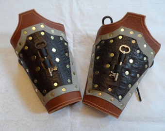 Key Bracers - Weird West meets Ren Fair meets Steampunk
