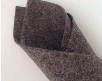 Dark Beige Fleck - BioFelt Natural Colour - 100 % Wool Felt
