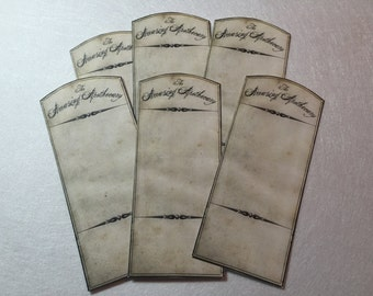 The Amazing Apothecary  Labels Set of 6