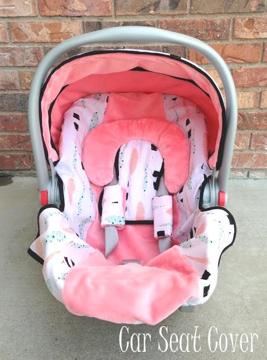 girl car seat cover and car seat canopy in by wadsworthboutique. Black Bedroom Furniture Sets. Home Design Ideas