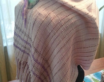 Lavender Cotton Shawl
