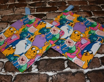 Adventure Time Pot Holder - Set