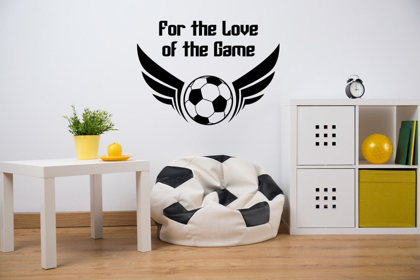 soccer wall decal sports wall decal soccer ball wall decal