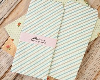 Diagonal STRIPE Tall Envelopes