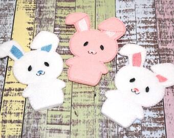 Easter Bunny Rabbit Finger Puppet