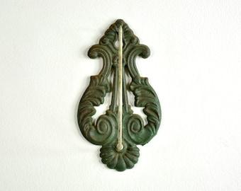Antique Receipt Spike, Cast Iron Wall Hook Reciept Holder