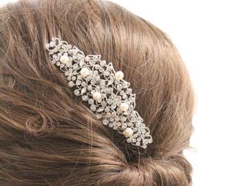 Wedding hair comb hair accessory Wedding hair comb headpiece Wedding hair comb hair jewelry Wedding hair comb hairpiece Bridal hair comb