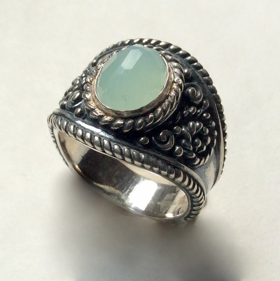 jade ring engagement ring stone ring bohemian jewelry. Black Bedroom Furniture Sets. Home Design Ideas