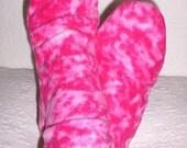 Women's Fleece Socks, Warm Ladies Socks, Bed Socks, Boot Liner, Camping Socks, Gift for Senior Citizen, Handmade Gift, Fleece Socks