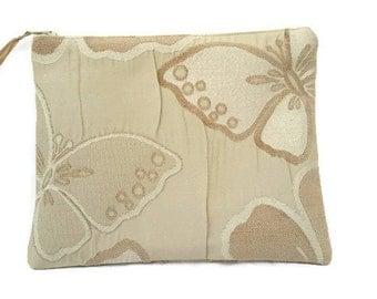 Butterflies - Zipper Pouch / Zipper Purse