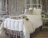Farmhouse style iron bed