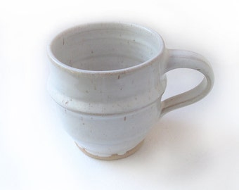 Speckled White Coffee/Espresso Cup