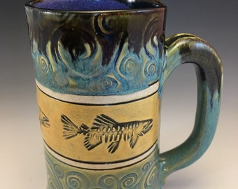 Salmon Fish Mug