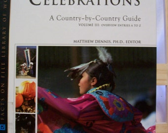 Book, Encyclopedia Of Holidays And Celebrations, Country By Country, Overview A to Z