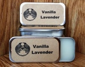 Vanilla and Lavender Solid Perfume Balm